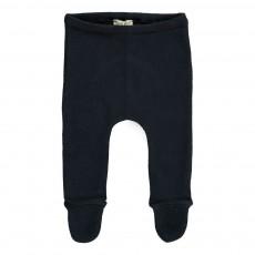 Pantalon Pieds Bleu marine