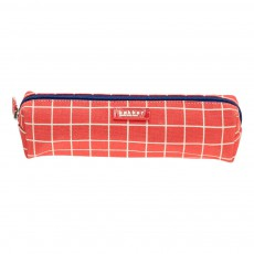 Trousse Kotak Canvas Rouge
