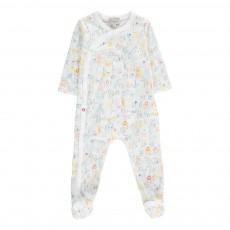 Pyjama Alphabet Animaux Mittle Blanc