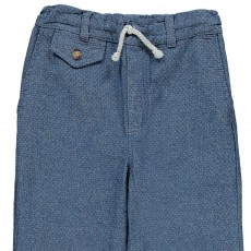 Pantalon Fluide Denim
