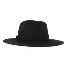Chapeau Feutre Bord Large Noir