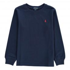 T-Shirt Col Rond Classic Bleu marine