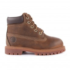 Boots Cuir 6In Authentic Marron