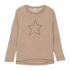 Pull Laine Etoile Margerity Beige