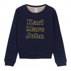 Sweat Karl Marc John Siry Bleu marine