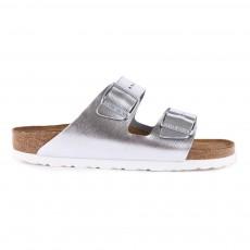 Sandales Cuir Arizona Argenté