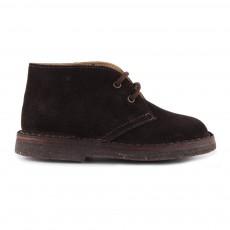 Desert Boots Suède Marron