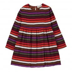 Robe Rayée Multicolore
