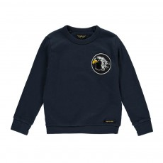 Sweat Patch Aigle Brian Bleu indigo