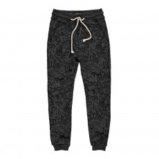 Jogger Graffiti Sprint Gris