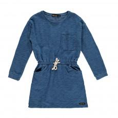 Robe Molleton Subway Bleu chiné