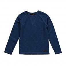 T-Shirt Chiné Neal Bleu indigo