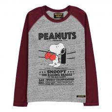 T-Shirt Snoopy Boxeur Neal Gris chiné