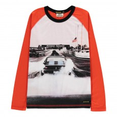 T-Shirt Voiture Neal Rouge vermillon