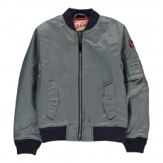 Bomber American College Gris