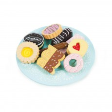 Assiette de biscuit Multicolore