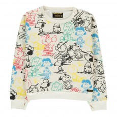 Sweat Snoopy Turner Blanc cassé