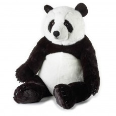 Peluche Panda Orso 66 cm Blanc