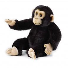 Peluche Chimpanzé 36 cm Noir