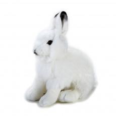 Peluche Lapin des neiges 25 cm Blanc