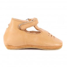 Babies Cuir Lilly Camel