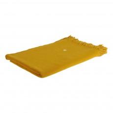 Plaid Eva 140x200 cm Jaune moutarde