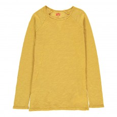 T-Shirt Chiné Ocre