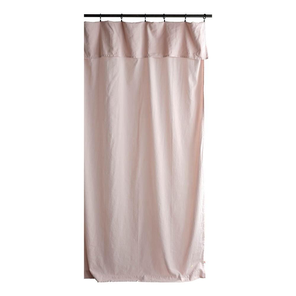 rideau lina 140x280 cm rose poudr la cerise sur le g teau d coration smallable. Black Bedroom Furniture Sets. Home Design Ideas