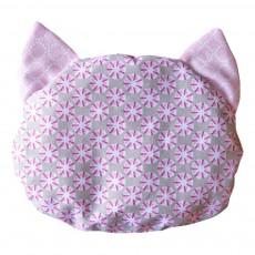 Bouillote motifs en forme de chat Rose