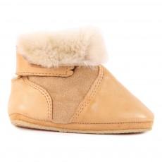 Boots Fourrées Mouton Scratch Chobotte Camel