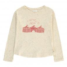 T-Shirt Moucheté Cirque Holly Ecru