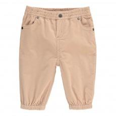 Pantalon Velours Pipkin Rose pâle
