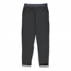 Pantalon Lurex Double Jersey Galika Gris foncé