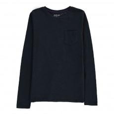T-Shirt Poche Casto Bleu marine