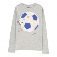 T-Shirt Ballon Foot Keno Gris chiné