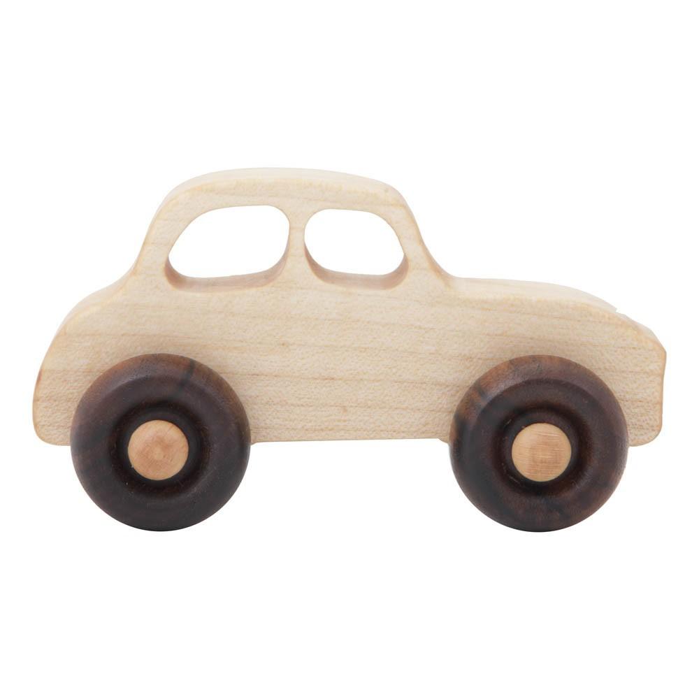 voiture en bois style ann es 50 naturel wooden story jeux jouets loisirs enfant smallable. Black Bedroom Furniture Sets. Home Design Ideas