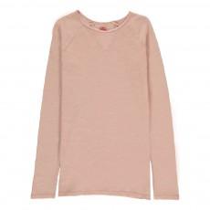 T-Shirt Chiné Rose poudré
