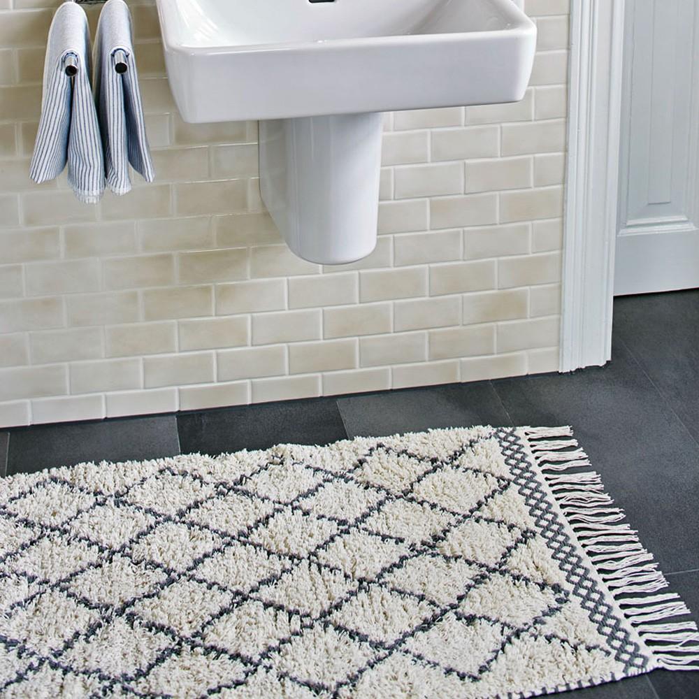 tapis en coton morocco multicolore liv interior d coration smallable. Black Bedroom Furniture Sets. Home Design Ideas