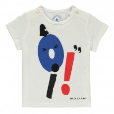 T-Shirt Mini Oi! Blanc
