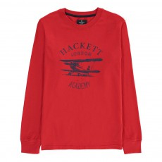 T-Shirt Avion Rouge