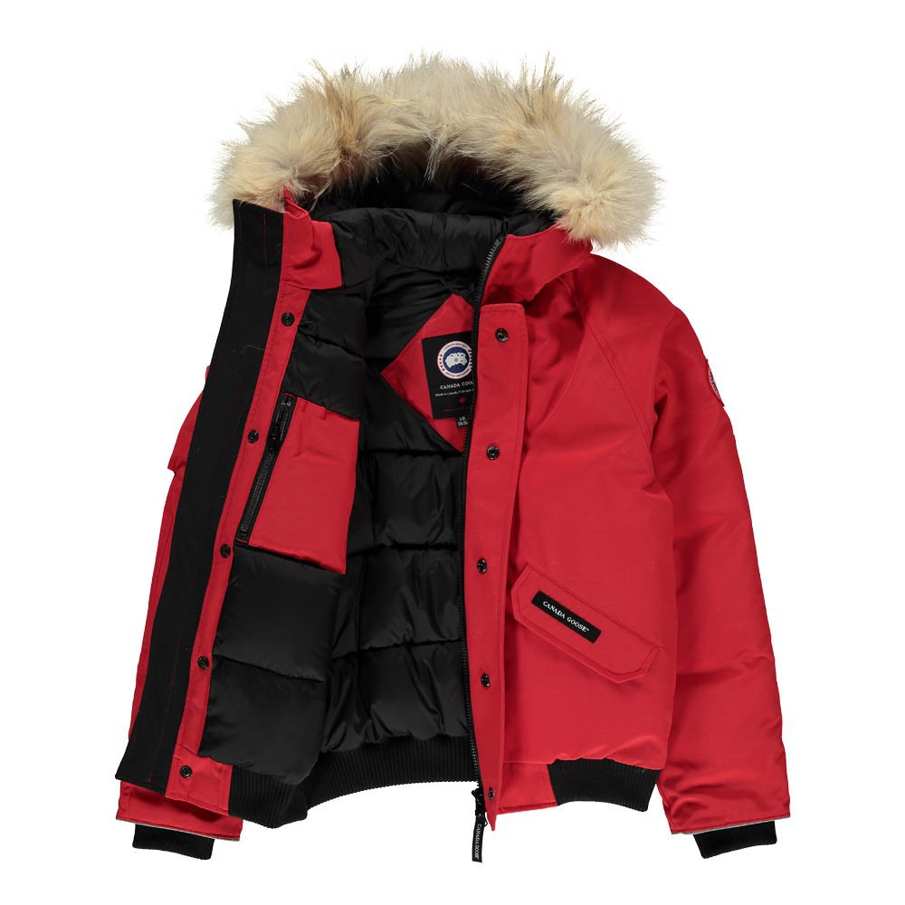 Canada Goose victoria parka outlet discounts - Canada Goose Rundle Bomber Jaket Red - Teen Fashion - Smallable