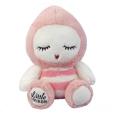 Peluche Little Bon Bon rose 30 cm Rose