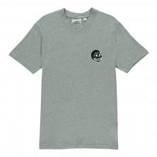 T-Shirt Tête de Mort Fantastic Gris chiné