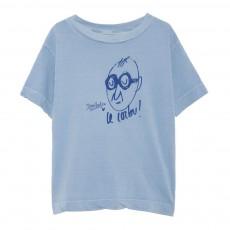 T-Shirt Le Corbu Rooster MC Bleu gris