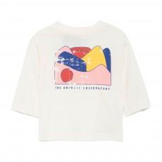T-Shirt Paysage Octopus Ecru