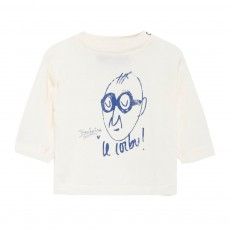T-Shirt Le Corbu Octopus Ecru