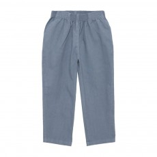 Pantalon Toile Butcher Workers Bleu gris