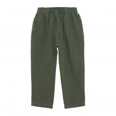Pantalon Toile Butcher Workers Vert kaki
