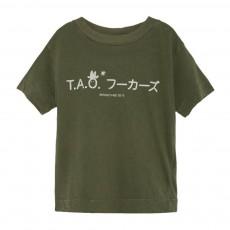 T-Shirt TAO Rooster Workers Vert kaki