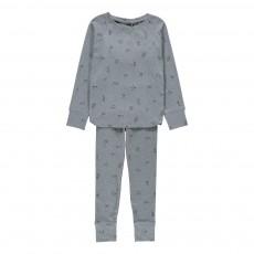 Pyjama Indiens Elliot Bleu gris